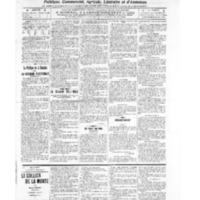 Le Journal de l'arrondissement de Valognes, numéro du 12 novembre 1909