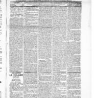 Le Journal de l'arrondissement de Valognes, numéro du 27 mars 1896