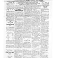 Le Journal de l'arrondissement de Valognes, numéro du 18 janvier 1913
