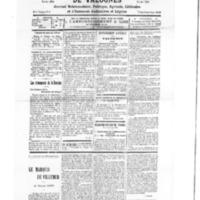 Le Journal de l'arrondissement de Valognes, numéro du 15 mars 1930