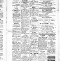 Le Journal de l'arrondissement de Valognes, supplément au numéro du 01 mai 1885