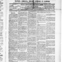 Le Journal de l'arrondissement de Valognes, numéro du 18 janvier 1889