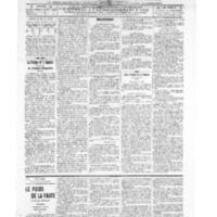 Le Journal de l'arrondissement de Valognes, numéro du 02 juillet 1909