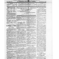 Le Journal de l'arrondissement de Valognes, numéro du 11 octobre 1924