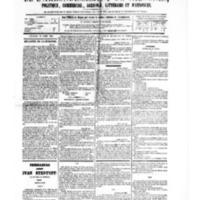 Le Journal de l'arrondissement de Valognes, numéro du 29 avril 1881