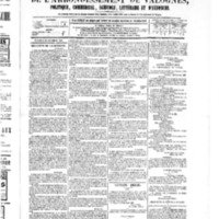 Le Journal de l'arrondissement de Valognes, numéro du 24 décembre 1880