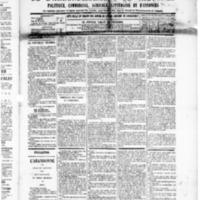 Le Journal de l'arrondissement de Valognes, numéro du 27 septembre 1889