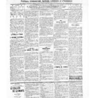 Le Journal de l'arrondissement de Valognes, numéro du 05 novembre 1909
