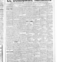 Le Bonhomme normand, numéro du 04 décembre 1914