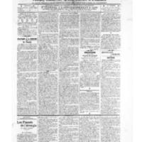 Le Journal de l'arrondissement de Valognes, numéro du 03 mai 1907