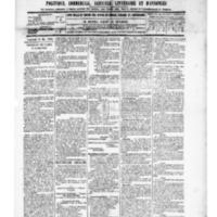 Le Journal de l'arrondissement de Valognes, numéro du 31 mai 1889