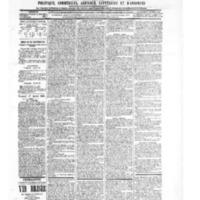 Le Journal de l'arrondissement de Valognes, numéro du 17 juillet 1903