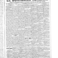 Le Bonhomme normand, numéro du 25 décembre 1914