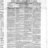 Le Journal de l'arrondissement de Valognes, numéro du 09 juillet 1886