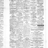 Le Journal de l'arrondissement de Valognes, supplément au numéro du 04 septembre 1885