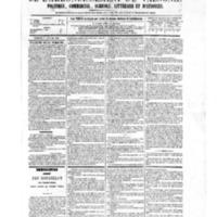 Le Journal de l'arrondissement de Valognes, numéro du 08 janvier 1875