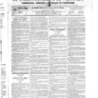 Le Journal de l'arrondissement de Valognes, numéro du 17 février 1865