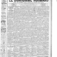 Le Bonhomme normand, numéro du 30 octobre 1908