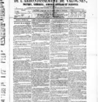 Le Journal de l'arrondissement de Valognes, numéro du 06 février 1880
