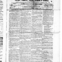 Le Journal de l'arrondissement de Valognes, numéro du 20 mars 1885