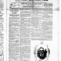 Le Journal de l'arrondissement de Valognes, numéro du 05 juin 1885