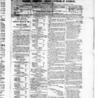 Le Journal de l'arrondissement de Valognes, numéro du 31 juillet 1885
