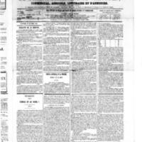Le Journal de l'arrondissement de Valognes, numéro du 20 octobre 1865