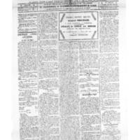 Le Journal de l'arrondissement de Valognes, numéro du 16 juillet 1921