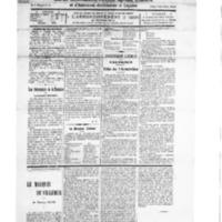 Le Journal de l'arrondissement de Valognes, numéro du 17 novembre 1928