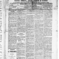 Le Journal de l'arrondissement de Valognes, numéro du 10 octobre 1890
