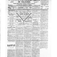 Le Journal de l'arrondissement de Valognes, numéro du 08 décembre 1934