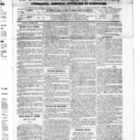 Le Journal de l'arrondissement de Valognes, numéro du 06 octobre 1865