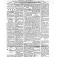 Le Journal de l'arrondissement de Valognes, numéro du 24 août 1906