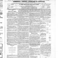 Le Journal de l'arrondissement de Valognes, numéro du 01 février 1867