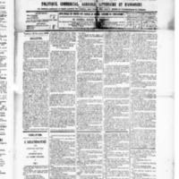 Le Journal de l'arrondissement de Valognes, numéro du 29 novembre 1889
