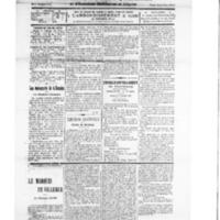 Le Journal de l'arrondissement de Valognes, numéro du 27 octobre 1928