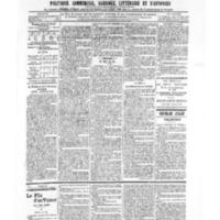 Le Journal de l'arrondissement de Valognes, numéro du 16 novembre 1906