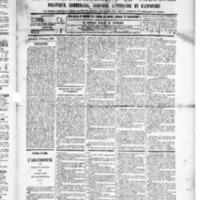 Le Journal de l'arrondissement de Valognes, numéro du 14 février 1890