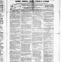 Le Journal de l'arrondissement de Valognes, numéro du 07 août 1885
