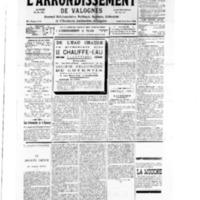 Le Journal de l'arrondissement de Valognes, numéro du 19 mai 1934