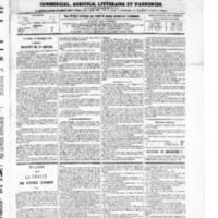 Le Journal de l'arrondissement de Valognes, numéro du 11 décembre 1868