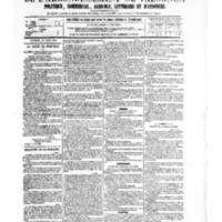 Le Journal de l'arrondissement de Valognes, numéro du 15 avril 1881