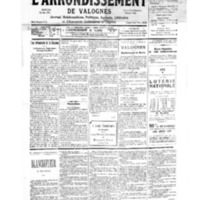 Le Journal de l'arrondissement de Valognes, numéro du 30 décembre 1939