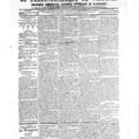 Le Journal de l'arrondissement de Valognes, numéro du 21 juillet 1905