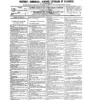 Le Journal de l'arrondissement de Valognes, numéro du 28 mars 1879