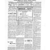 Le Journal de l'arrondissement de Valognes, numéro du 15 octobre 1932