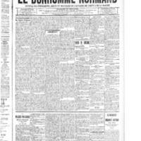 Le Bonhomme normand, numéro du 27 novembre 1914