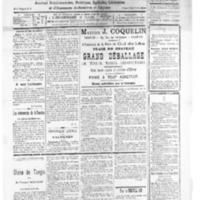 Le Journal de l'arrondissement de Valognes, numéro du 27 décembre 1930