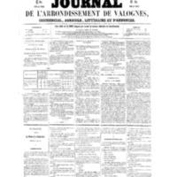Le Journal de l'arrondissement de Valognes, numéro du 10 septembre 1858