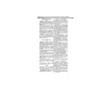 Le Journal de l'arrondissement de Valognes, supplément au numéro du 23 avril 1921